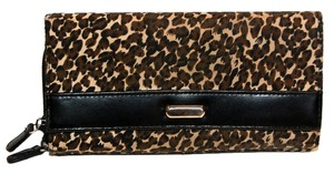 Avon Animal Print Large Zip Around Two-Sided Wallet