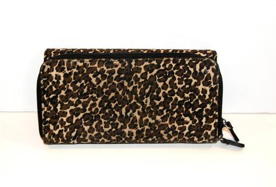 Avon LAST CALL! Animal Print Large Zip Around Two-Sided Wallet Image 1