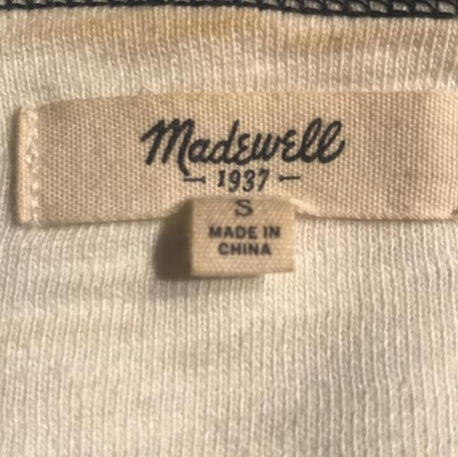 Madewell T Shirt white and blue Image 2