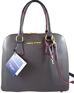Adrienne Vittadini Satchel in Grey