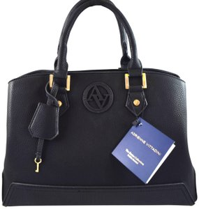 Adrienne Vittadini Satchel in Black