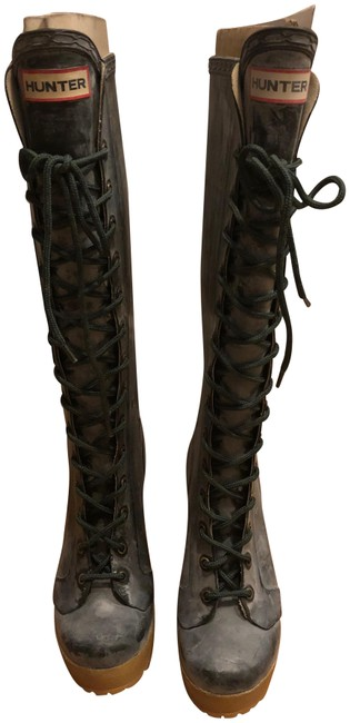 Item - Lapins Lace-up High-heel 5/5.5 Boots/Booties Size US 5 Regular (M, B)