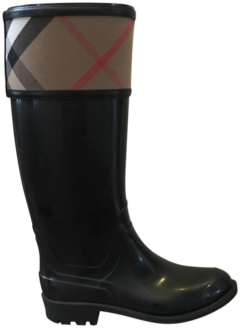 Item - Nova/Black Crosshill Rain Boots/Booties Size EU 36.5 (Approx. US 6.5) Regular (M, B)