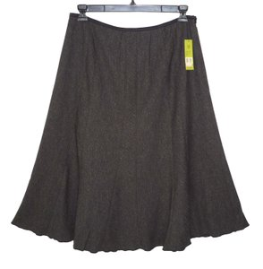 NIC+ZOE Tweed A-line Stretch Flare Skirt