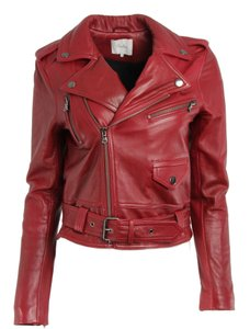 Parker Red Leather Jacket