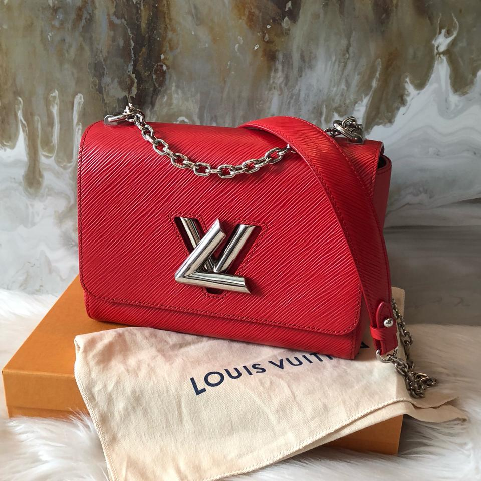 Louis Vuitton Twist Mm Chain Red Epi Leather Shoulder Bag - Tradesy c51a65ec58c18