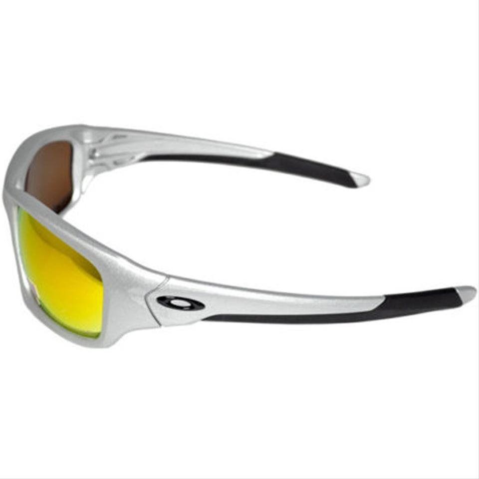 434ae8835d Oakley Rectangular Style Unisex OO9236-07 Fire Iridium Polarized Lens. 1234