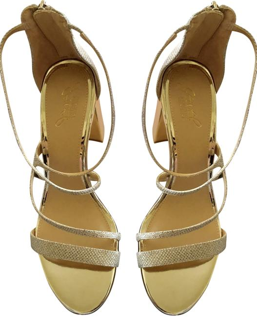Item - gold -new In Box Jewel Collection-gale Formal Shoes Size US 10 Regular (M, B)