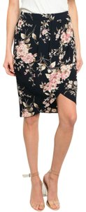 West Kei Skirt Navy Floral