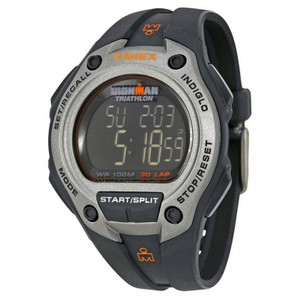 Timex T5K758 Ironman Men's Black Resin Band With Digital Dial Genuine Watch