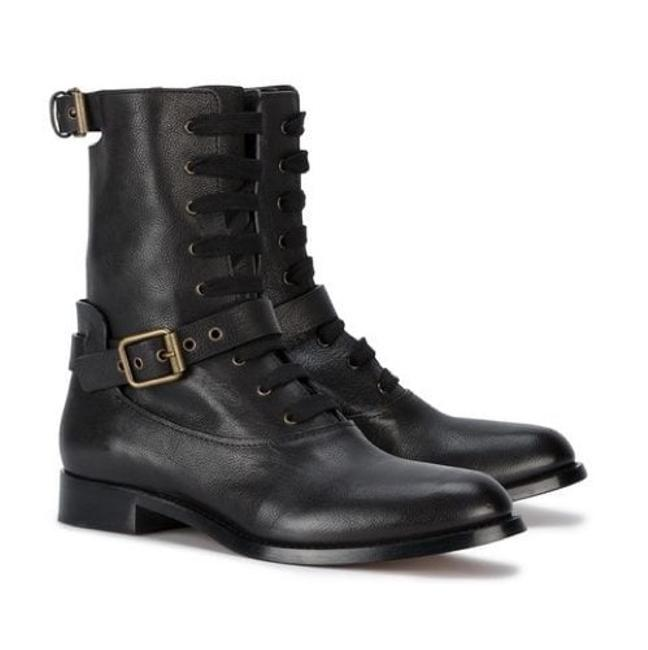 Item - Black Otto Lace Up Boots/Booties Size US 6 Regular (M, B)