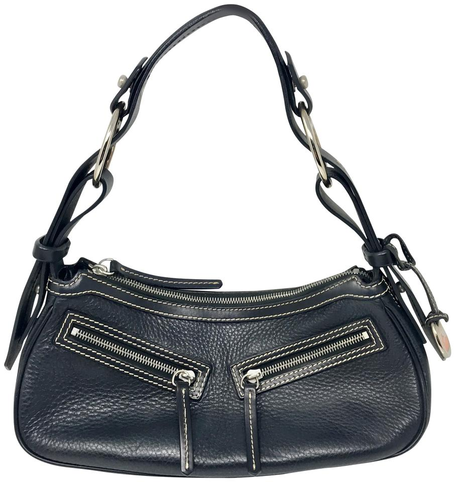 Dooney bourke black leather hobo bag tradesy jpg 906x960 Patent leather  dooney and bourke 1975 dfa123992aa9e