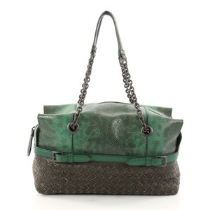 Bottega Veneta Lizard Shoulder Bag