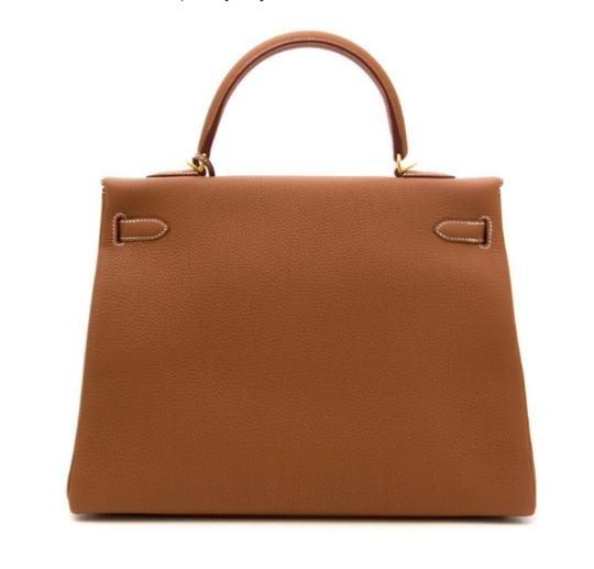 Hermès Birkin Kelly Leather Shoulder Bag