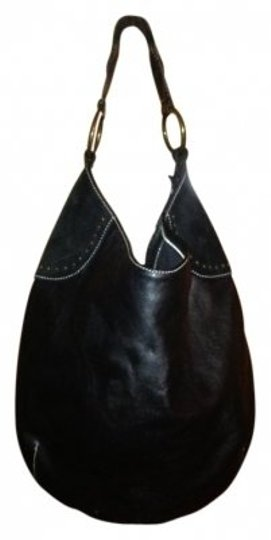 Preload https://item4.tradesy.com/images/leathersuede-black-genuine-leather-and-suede-with-brass-details-hobo-bag-24153-0-0.jpg?width=440&height=440
