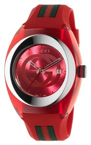 Gucci Gucci YA137103 Sync Red Rubber Red Dial Unisex Watch