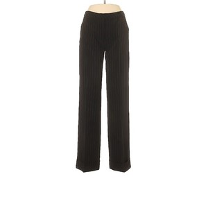 Moda International Straight Pants Black