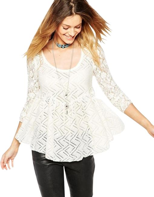 Preload https://img-static.tradesy.com/item/2415322/free-people-nwt-gracie-lace-blouse-size-2-xs-0-5-650-650.jpg