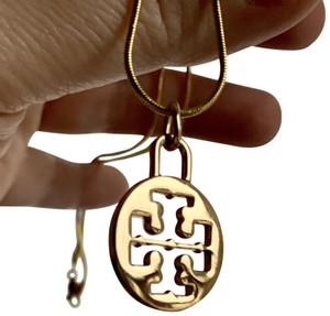 Tory Burch 2 piece set-Earring and Matching Necklace
