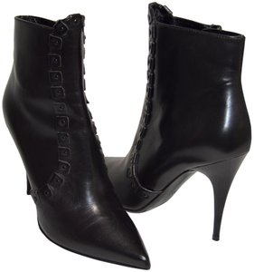 Burberry Studded New Studded Made In Italy Black Boots