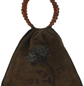 Moyna Wristlet in Chocolate Brown