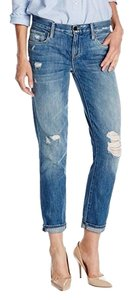 Genetic Denim Straight Leg Jeans-Distressed