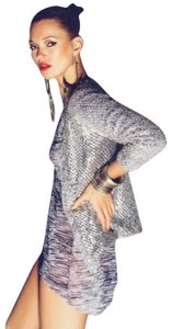 Kate Moss for Topshop Sequin Holiday Open Front Cardigan