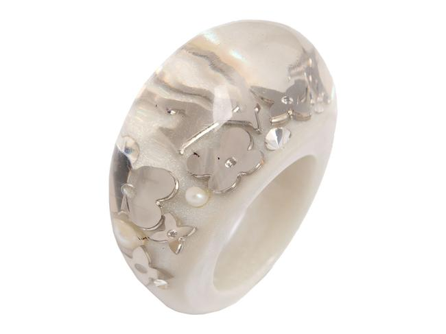 Item - Gray Pearl Inclusion Ring