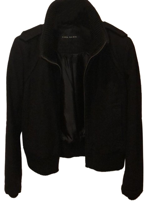 Item - Black Basic Coat Size 12 (L)