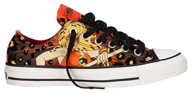 Item - Thundercats - Orange and Black All Star Edition Sneakers Size US 7 Regular (M, B)