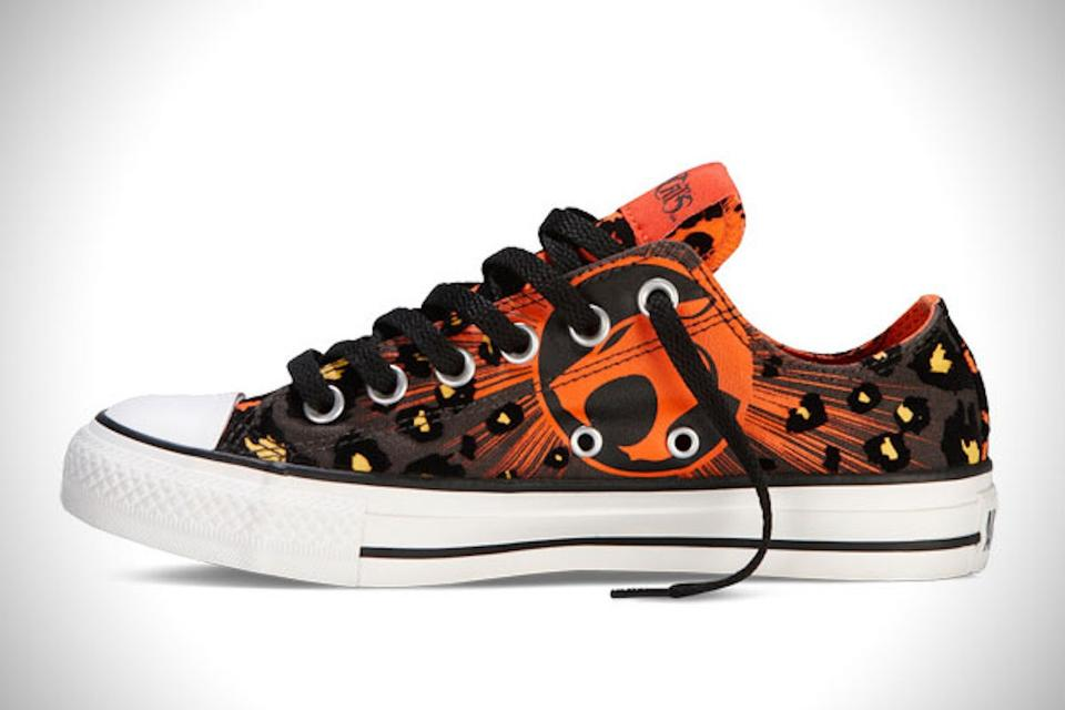 78e2a21cb92 Converse Thundercats - Orange and Black All Star Edition Sneakers ...