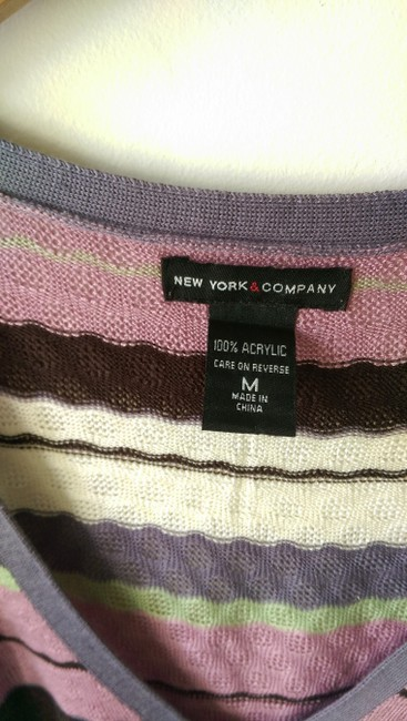 New York & Company Sleeveless Summer Spring Top multicolor Image 1