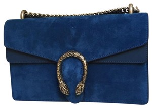 4a0911752 Added to Shopping Bag. Gucci Satchel in royal blue. Gucci Dionysus And Royal  Blue Suede Leather Satchel