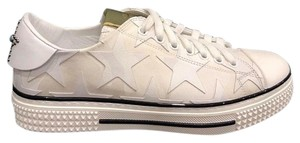 Valentino Rockstud Studded Flat Sneaker Trainer white Athletic