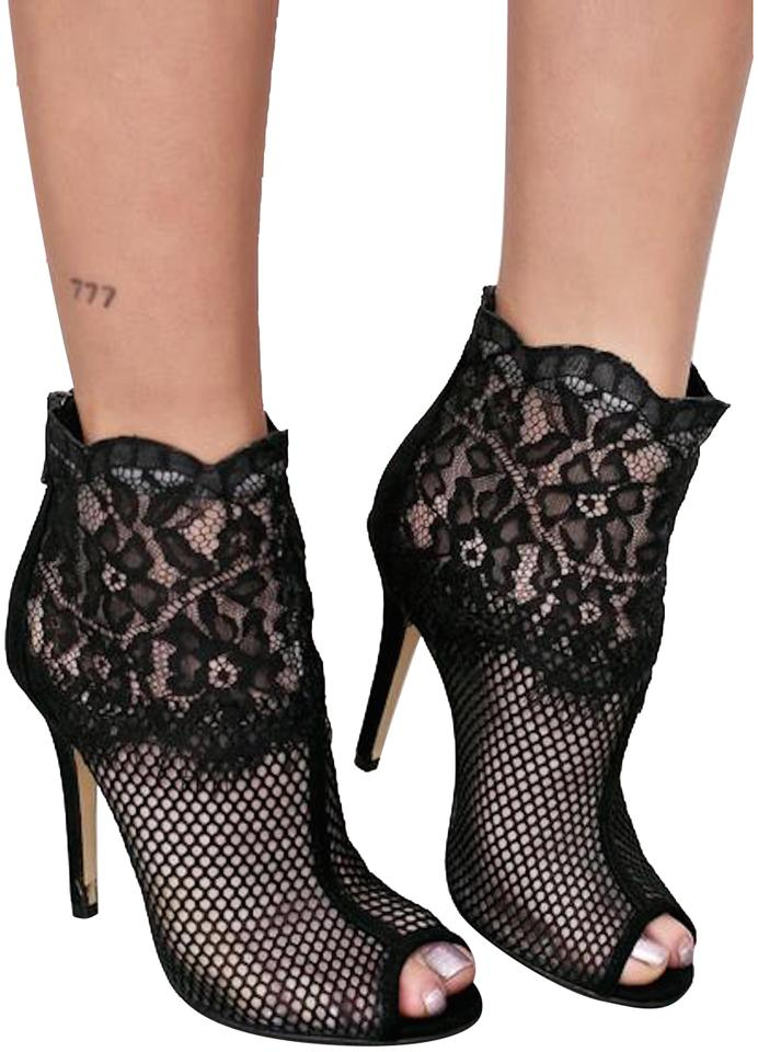 5a57c6852d Chinese Laundry Zara Missguided Public Desire Asos Black Lace Boots Image 0  ...