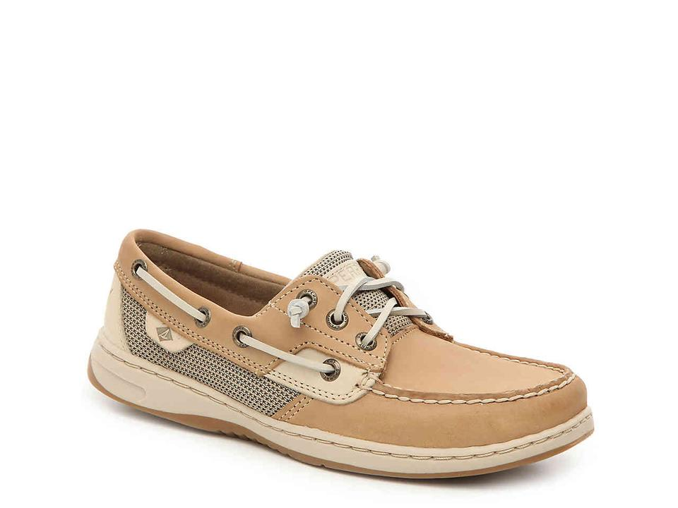 3abf1e92375a Sperry Brown Woman s Boat Flats Size US 8.5 Regular (M