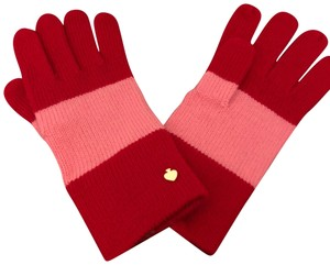 Kate Spade Color block Knitted Gloves