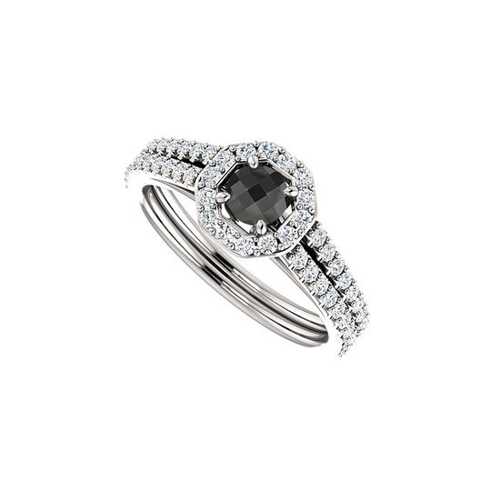 Preload https://img-static.tradesy.com/item/24155981/black-onyx-and-double-row-of-cz-halo-in-925-silver-ring-0-0-540-540.jpg