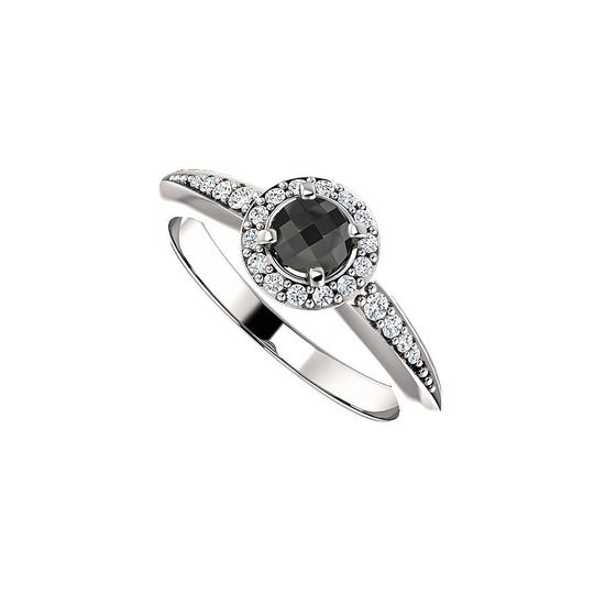 Preload https://img-static.tradesy.com/item/24156001/black-mysterious-deep-onyx-and-cz-halo-in-silver-ring-0-0-540-540.jpg