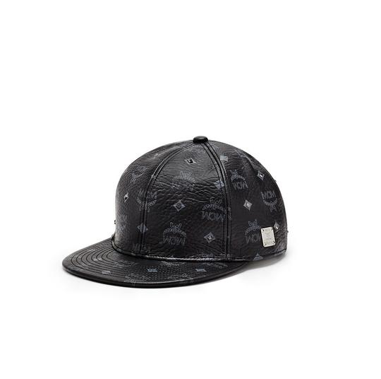 Preload https://img-static.tradesy.com/item/24156032/mcm-black-gold-visetos-cap-hat-0-0-540-540.jpg