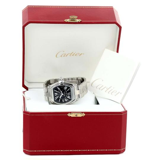 Cartier Cartier Roadster Black Dial Large Automatic Steel Watch W62041V3 Box