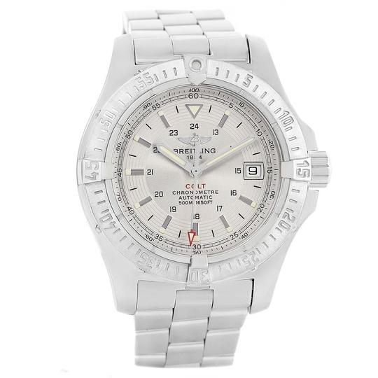 Breitling Breitling Colt Silver Dial Automatic Steel Mens Watch A17380