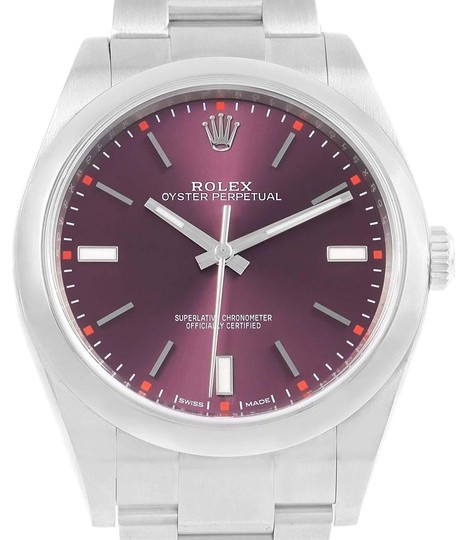 Preload https://img-static.tradesy.com/item/24156100/rolex-red-grape-oyster-perpetual-39-dial-steel-mens-114300-box-watch-0-1-540-540.jpg