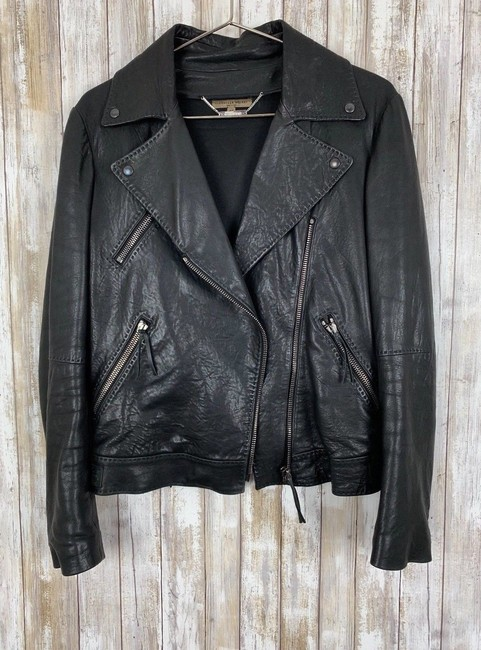 Alexander McQueen Crystal Studded Leather Jacket