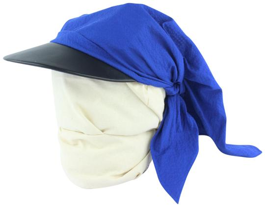 Preload https://img-static.tradesy.com/item/24156118/hermes-blue-gaby-seersucker-pointu-solaire-wrap-cap-33hz1009-hat-0-2-540-540.jpg