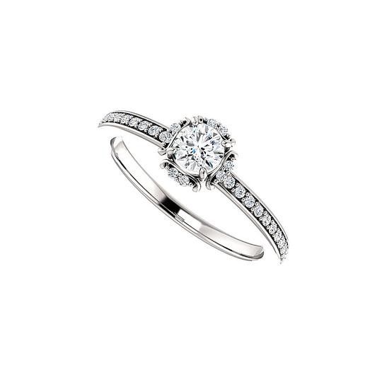 Preload https://img-static.tradesy.com/item/24156146/white-cubic-zirconia-unique-style-halo-in-925-silver-ring-0-0-540-540.jpg
