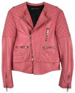 Balenciaga Pink Leather Jacket