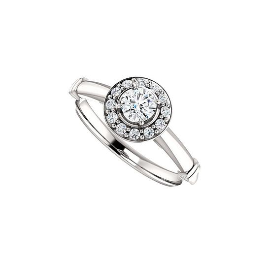 Preload https://img-static.tradesy.com/item/24156194/white-cubic-zirconia-halo-style-in-925-sterling-silver-ring-0-0-540-540.jpg
