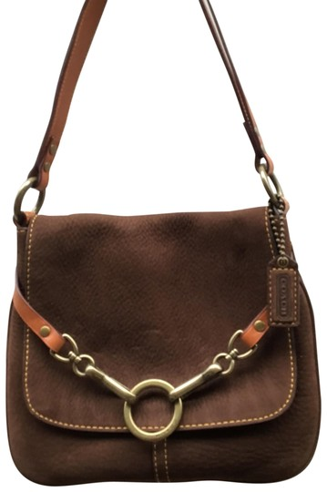 Preload https://img-static.tradesy.com/item/24156225/coach-small-brown-suede-and-leather-shoulder-bag-0-1-540-540.jpg