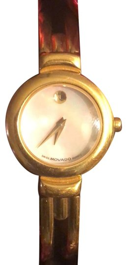 Preload https://img-static.tradesy.com/item/24156232/movado-gold-with-pearl-face-watch-0-1-540-540.jpg